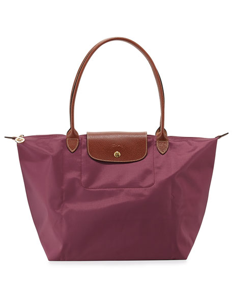Le Pliage Large Shoulder Tote Bag, Fig