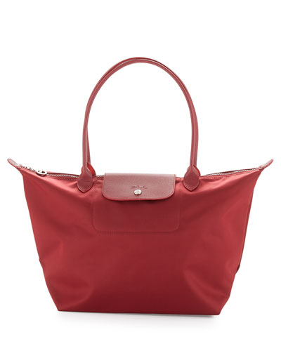 Le Pliage Neo Large Shoulder Tote Bag, Opera