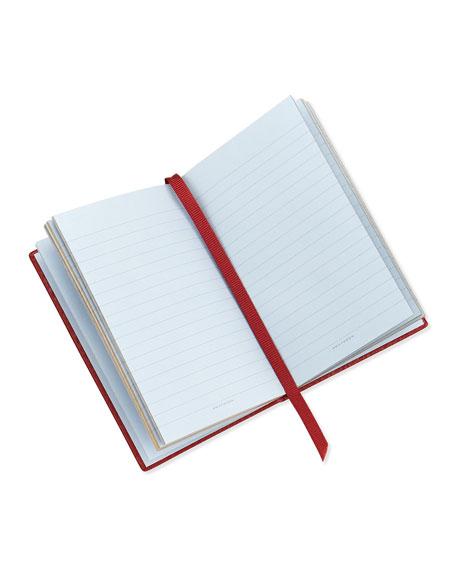 """Ho Ho Ho!"" Wafer Notebook, Red"