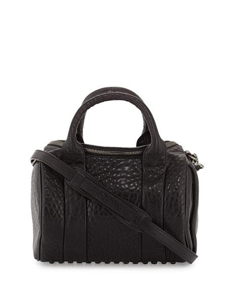 Alexander Wang Rockie Lambskin Duffel Bag, Black