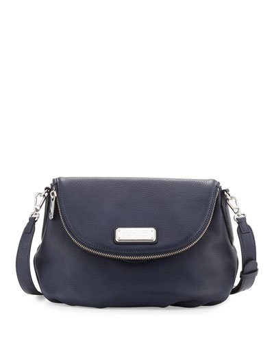 New Q Natasha Mini Crossbody Bag, India Ink