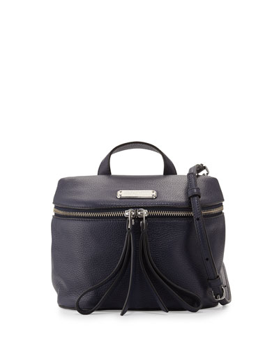 Canteen Leather Satchel Bag, India Ink