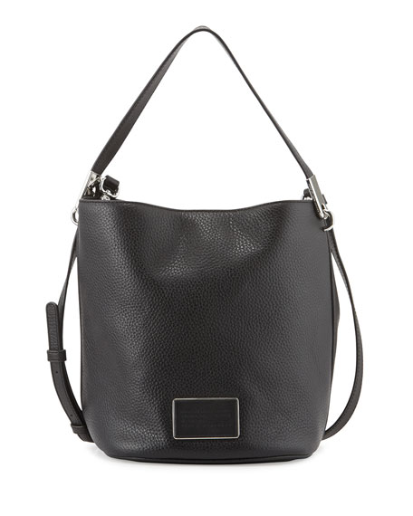 MARC by Marc Jacobs Ligero Leather Bucket Bag, Black