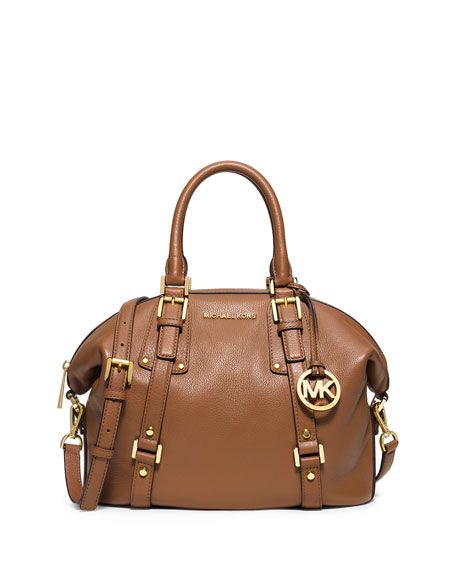 MICHAEL Michael Kors Bedford Belted Medium Satchel Bag,