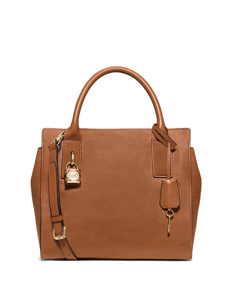 Mckenna Medium Satchel Bag, Luggage