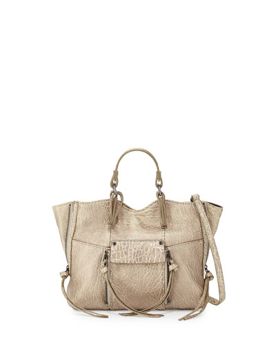 Everette Mini Crossbody Bag, Bronze