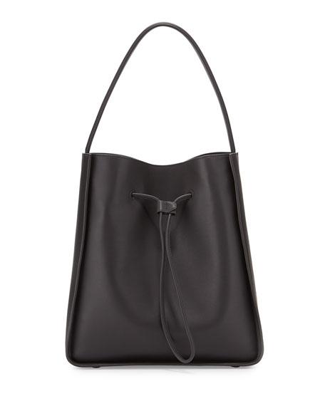 3.1 Phillip LimSoleil Large Drawstring Bucket Bag, Charcoal