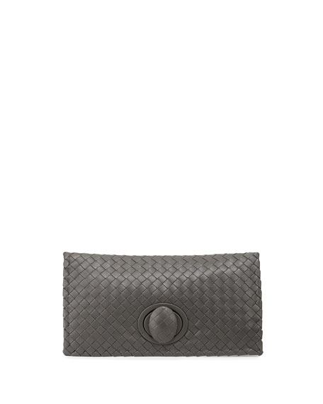 Bottega Veneta Turnlock Clutch