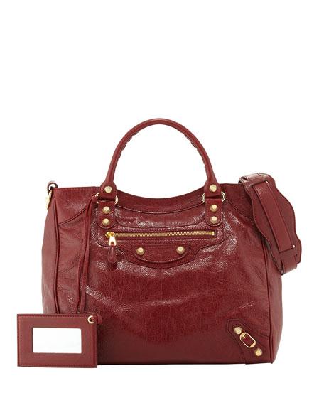 Giant 12 Velo Lambskin Satchel Bag