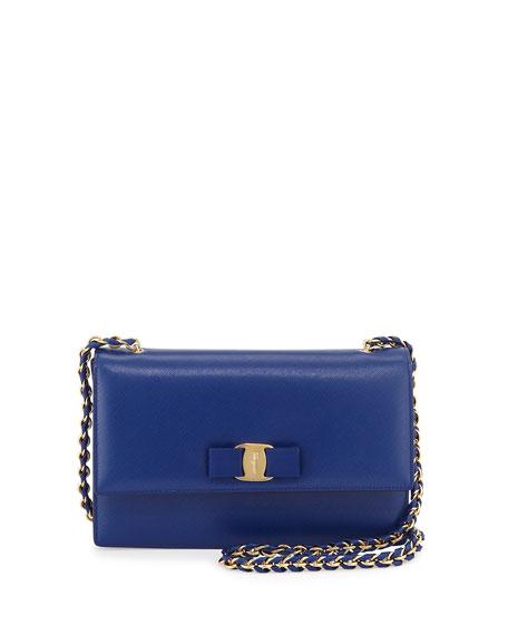 Vara shoulder bag - Blue Salvatore Ferragamo WHTQ8m43t