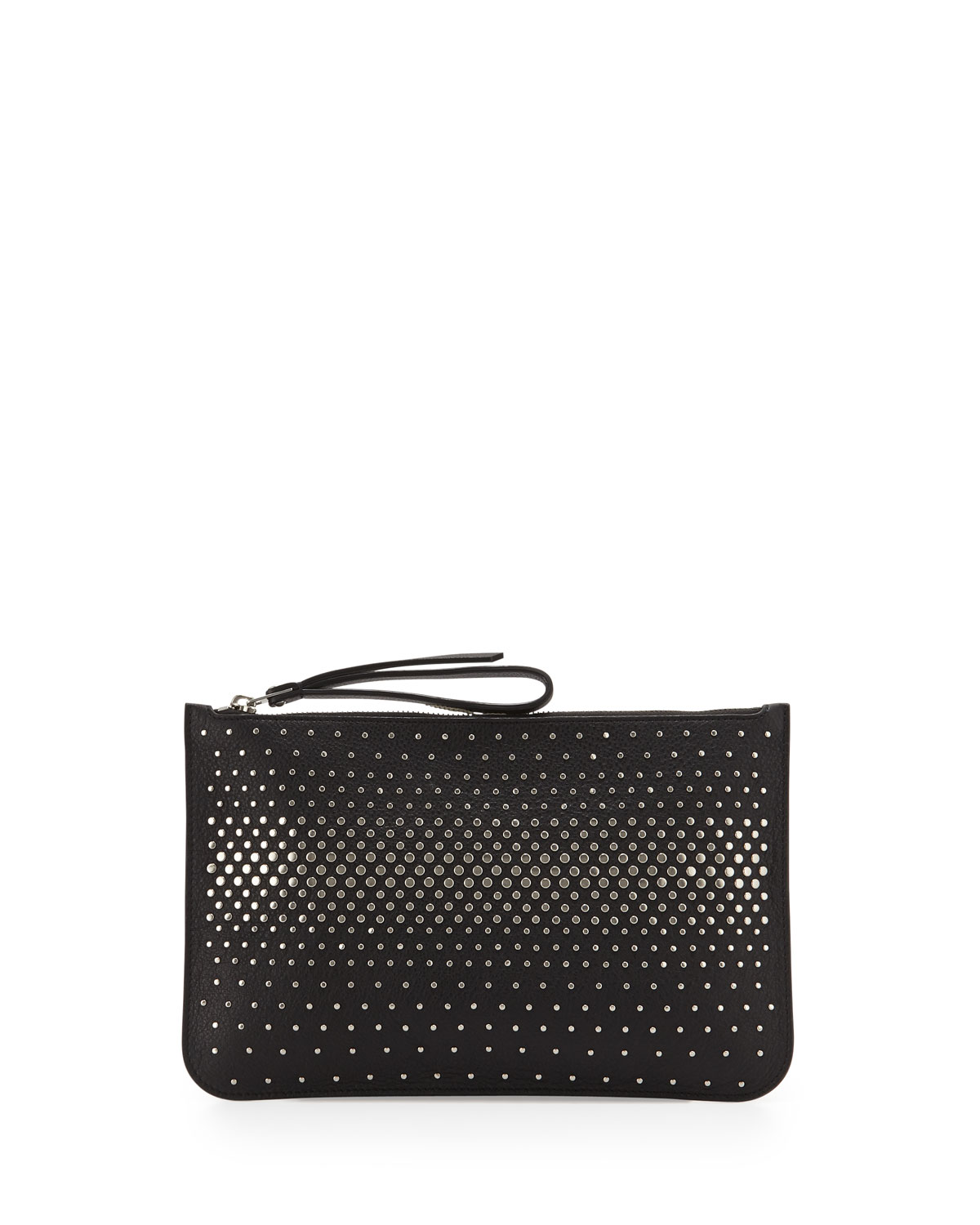 MARC by Marc Jacobs The Roxy Degrade Stud Clutch Bag, Black