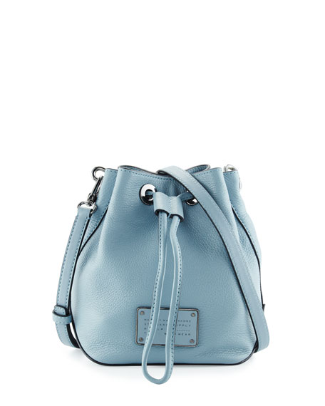 Marc By Jacobs New Too Hot To Handle Bucket Bag Ice Blue Neiman Marcus