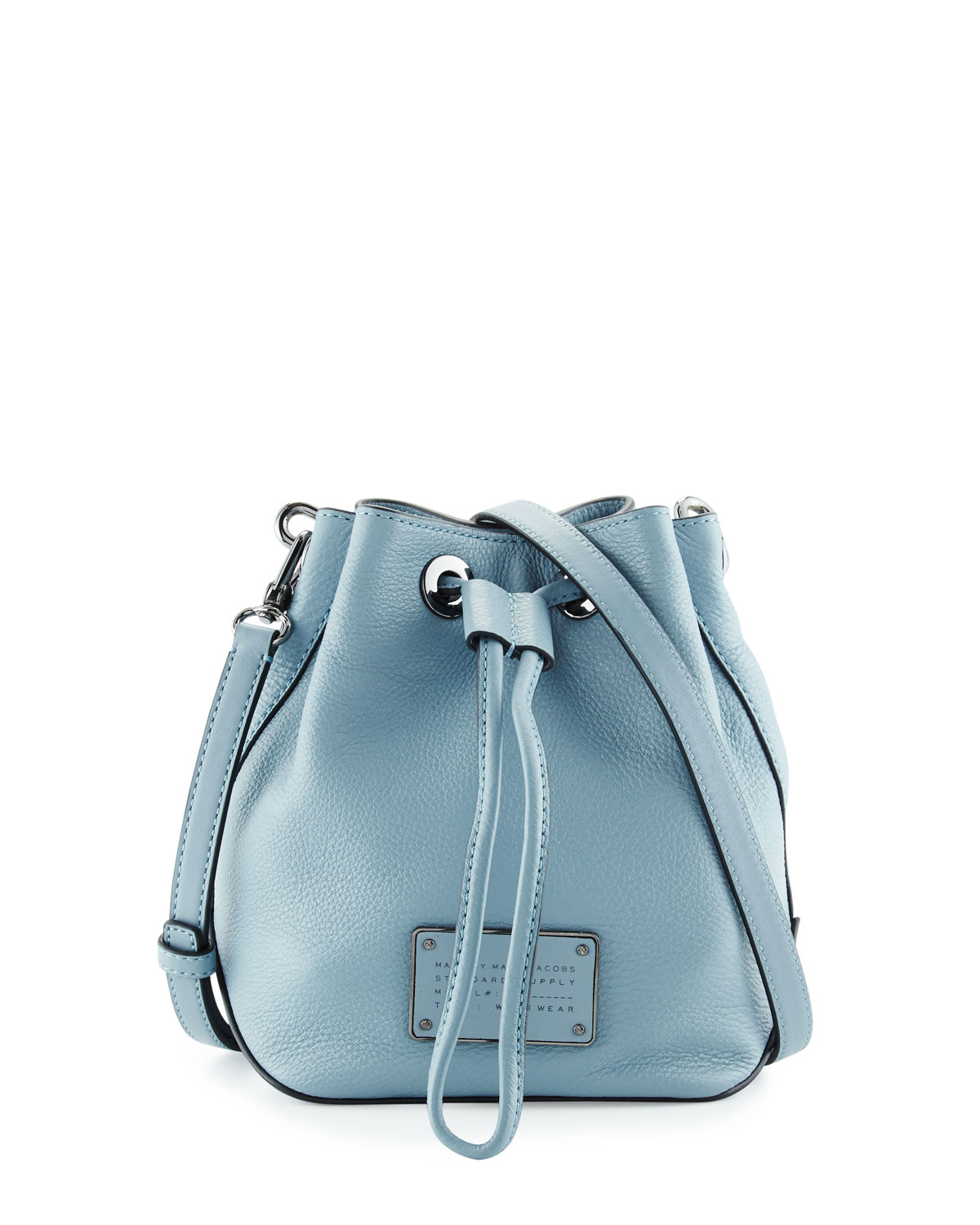 New Too Hot To Handle Bucket Bag Ice Blue