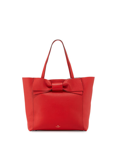 olive drive savannah tote bag, cherry