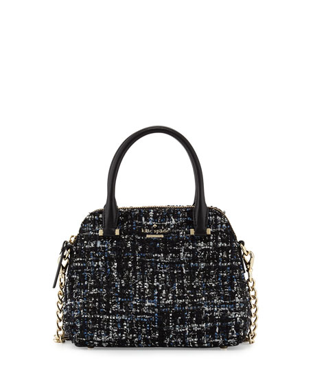 kate spade new york emerson place maise small fabric satchel bag ...