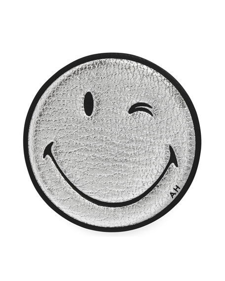 Anya Hindmarch Oversized Wink Smiley Face Sticker for