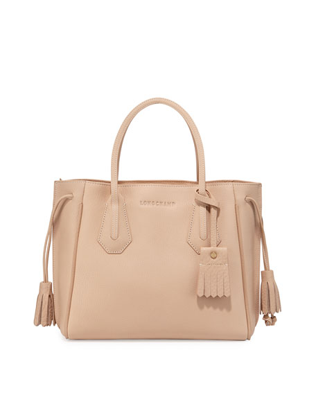 Longchamp Penelope Small Tote Bag, Sandy