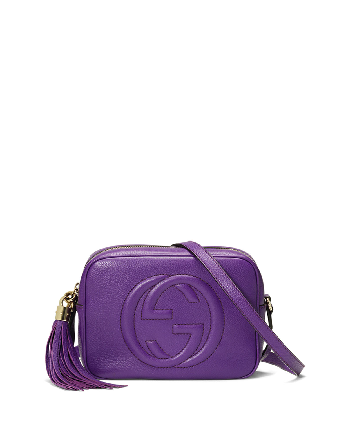 b24a4b5365 Gucci Soho Small Camera Crossbody Bag