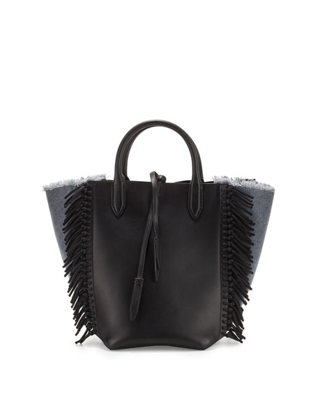 3.1 Phillip Lim Bianca Small Fringe Tote Bag,