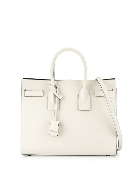 Saint Laurent Sac de Jour Small Bicolor Satchel