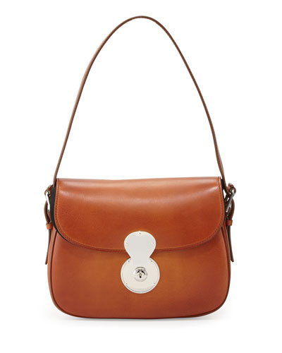 Ricky Medium Cartridge Bag, Vintage Saddle