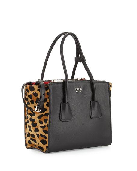prada messenger bag leather - Leopard Print Bag | Neiman Marcus