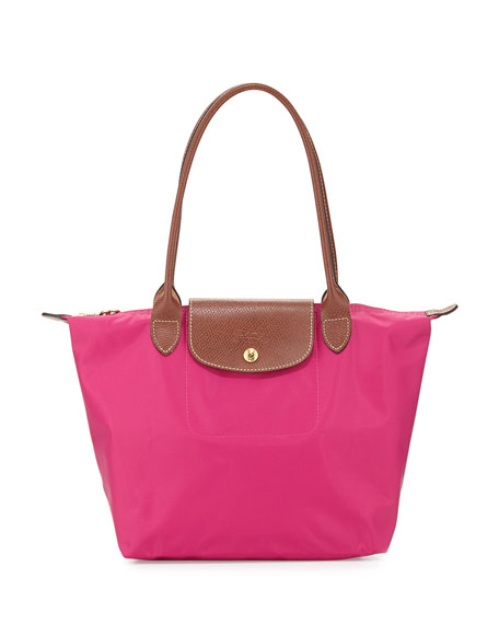 Longchamp Le Pliage Medium Shoulder Tote Bag, Cyclamen