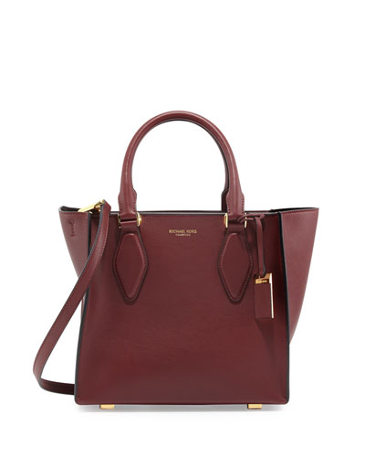 Gracie Medium Tote Bag, Claret