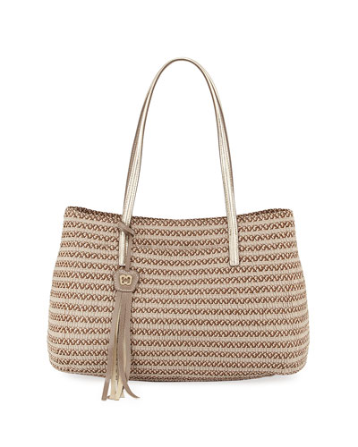 Dame Brooke Squishee Tote Bag, Bark
