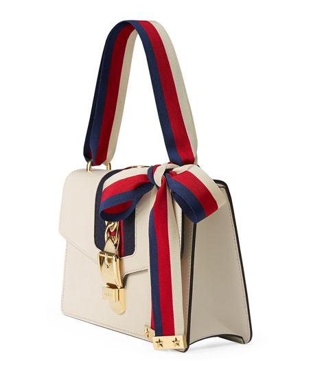 Sylvie Mini Leather Shoulder Bag