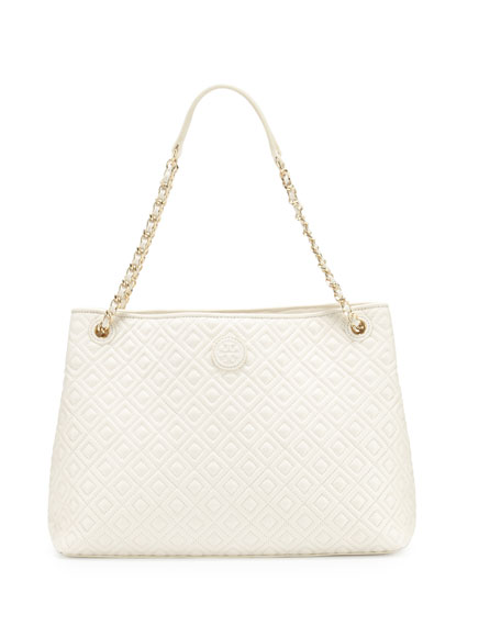 Tory Burch Marion Chain-Strap Shoulder Slouch Bag, New