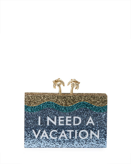 kate spade new yorki need a vacation clutch