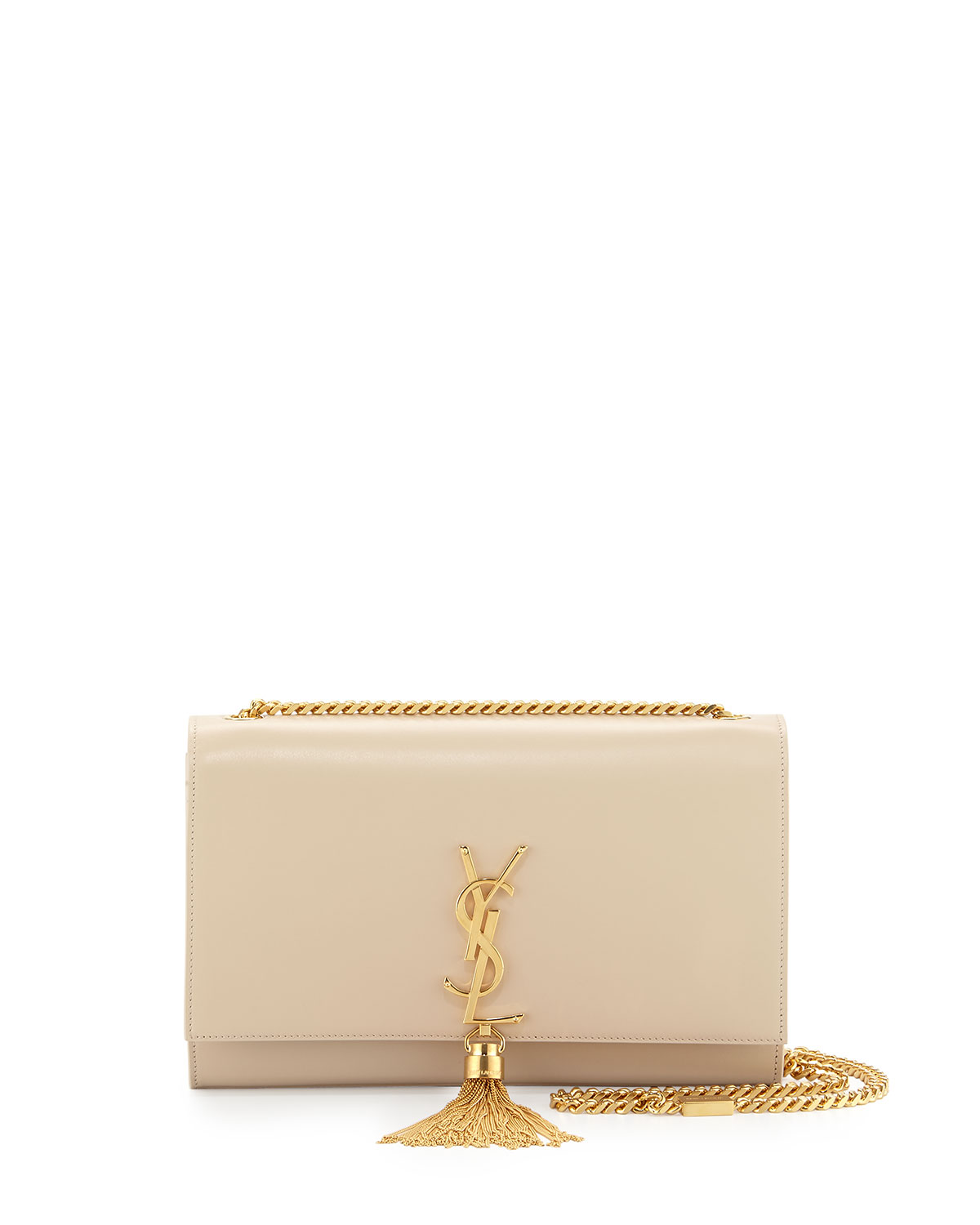 Saint Laurent Monogram Medium Tassel Crossbody Bag 941e7c379a1ab
