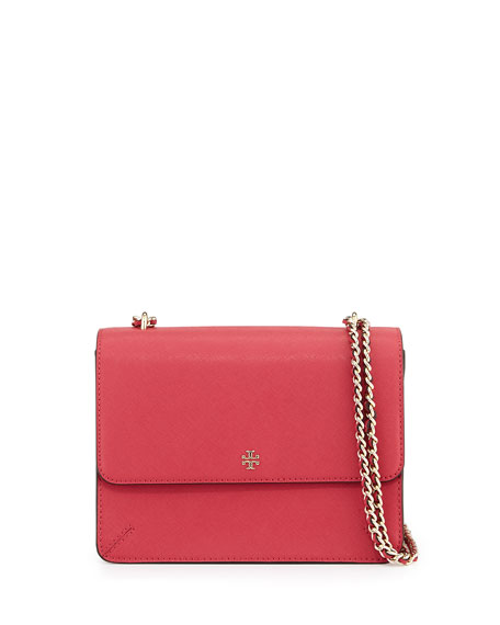Robinson Convertible Shoulder Bag, Dark Peony