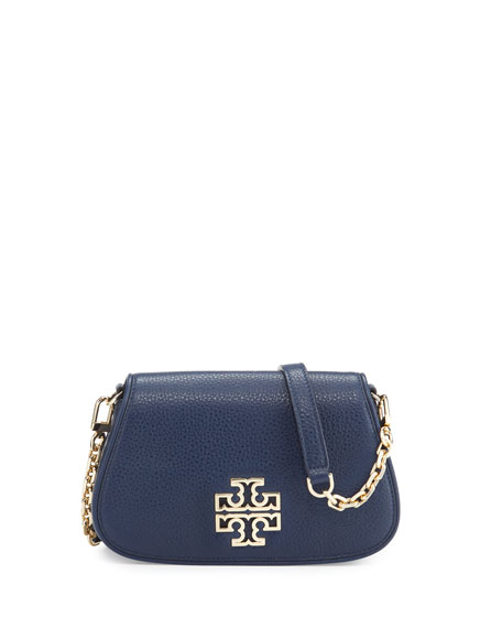 Tory Burch Britten Mini Clutch/Crossbody Bag, Royal Navy