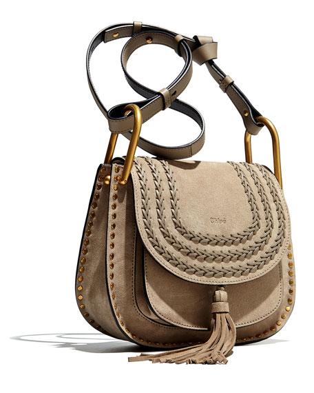 Hudson Small Suede Shoulder Bag