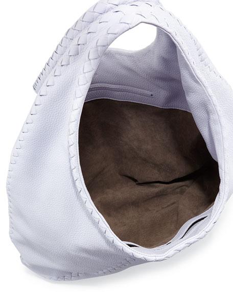 Cervo Large Hobo Bag, Oyster