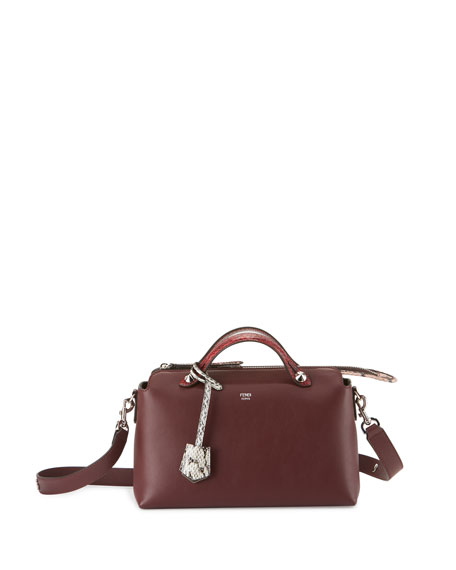 FendiBy the Way Small Leather & Snakeskin Satchel