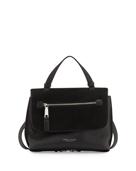 Marc JacobsThe Waverly Small Satchel Bag, Black