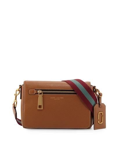 Gotham City Small Shoulder Bag, Maple Tan