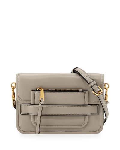 Madison Medium Shoulder Bag, Pebble