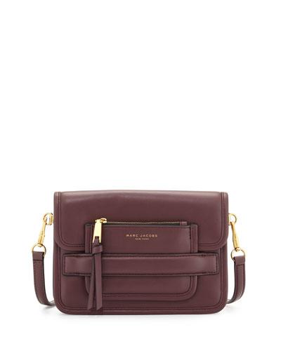 Madison Medium Shoulder Bag, Rubino