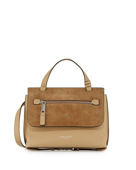 Marc Jacobs The Waverly Small Satchel Bag, Camel
