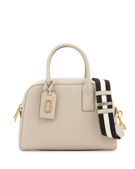 Marc Jacobs Gotham Bauletto Satchel Bag, Pebble