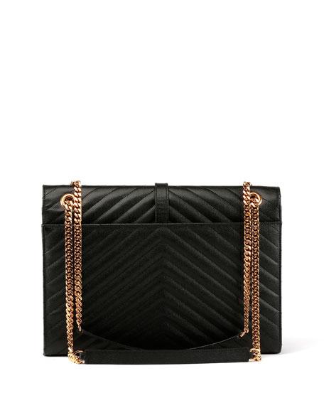 Monogram Matelasse Leather Chain-Strap Shoulder Bag