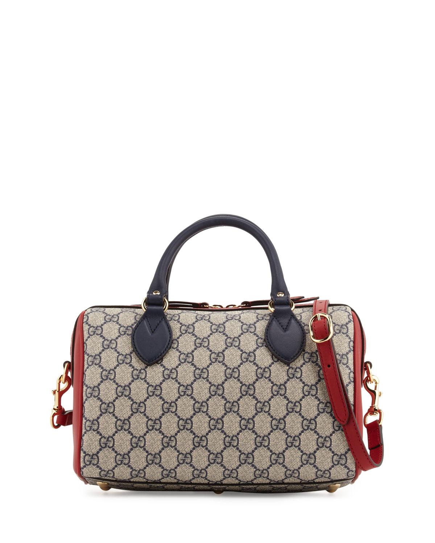 25ba7a206be Gucci GG Supreme Small Top-Handle Bag