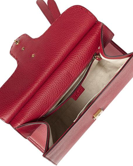 GG Marmont Small Top-Handle Satchel Bag