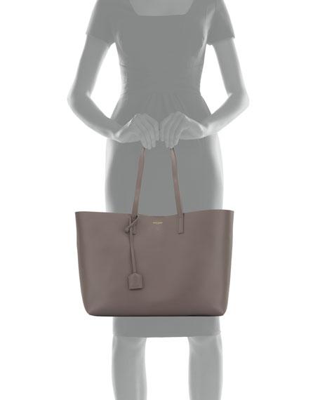 Large Shopping Tote Bag, Gray