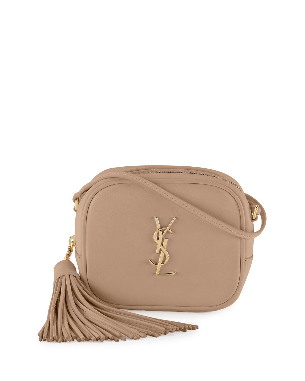 eb4461fe40 Saint Laurent Monogram Blogger Crossbody Bag