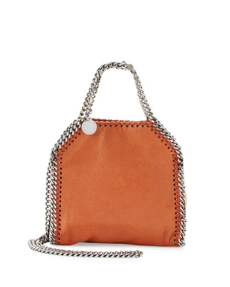 Stella McCartney Falabella Tiny Shoulder Bag, Brandy